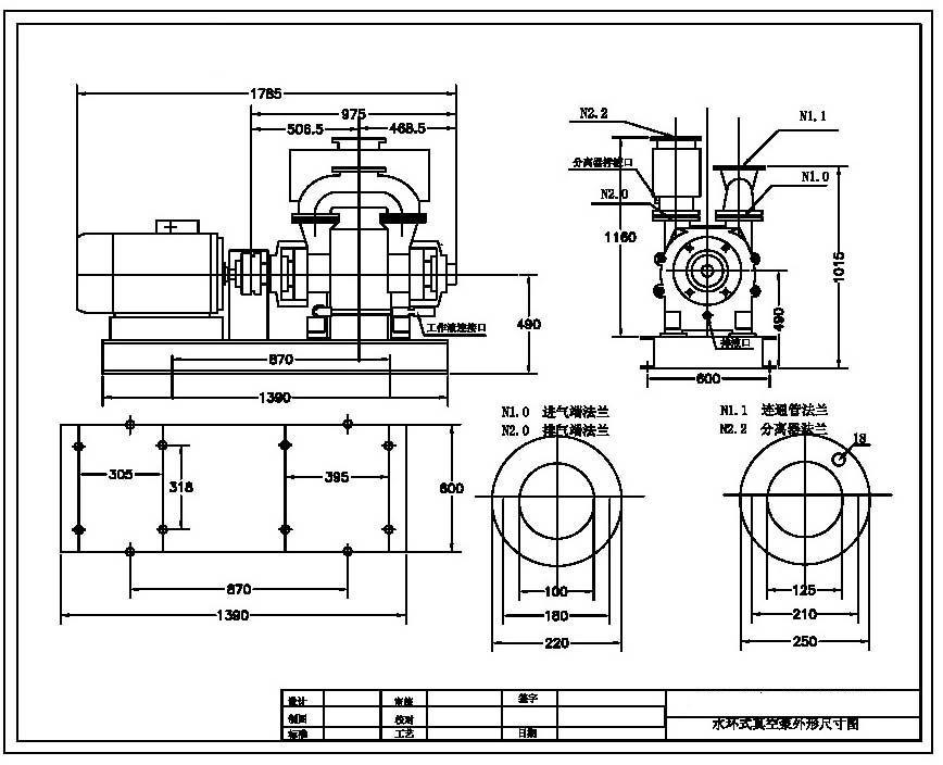十,2be水环式真空泵及压缩机结构主要特点